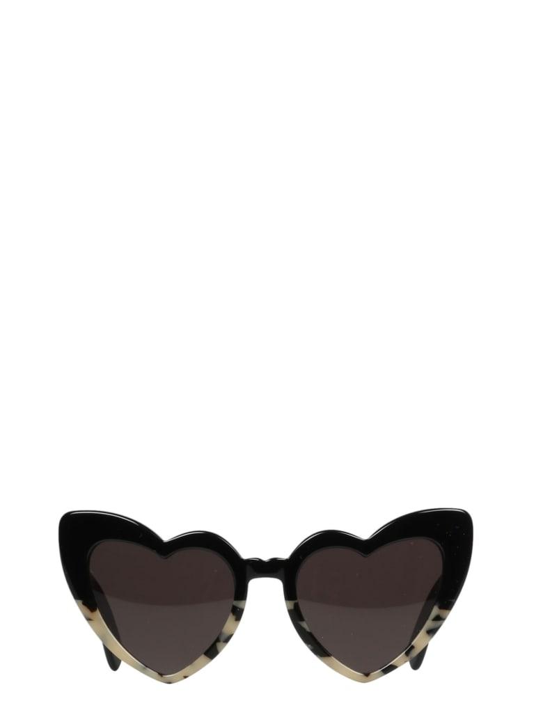 Saint Laurent New Wave Sl181 Loulou Sunglasses - Blackwhite