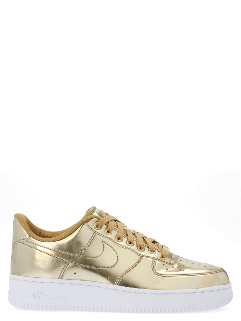 Nike 'air Force 1' Shoes - Gold