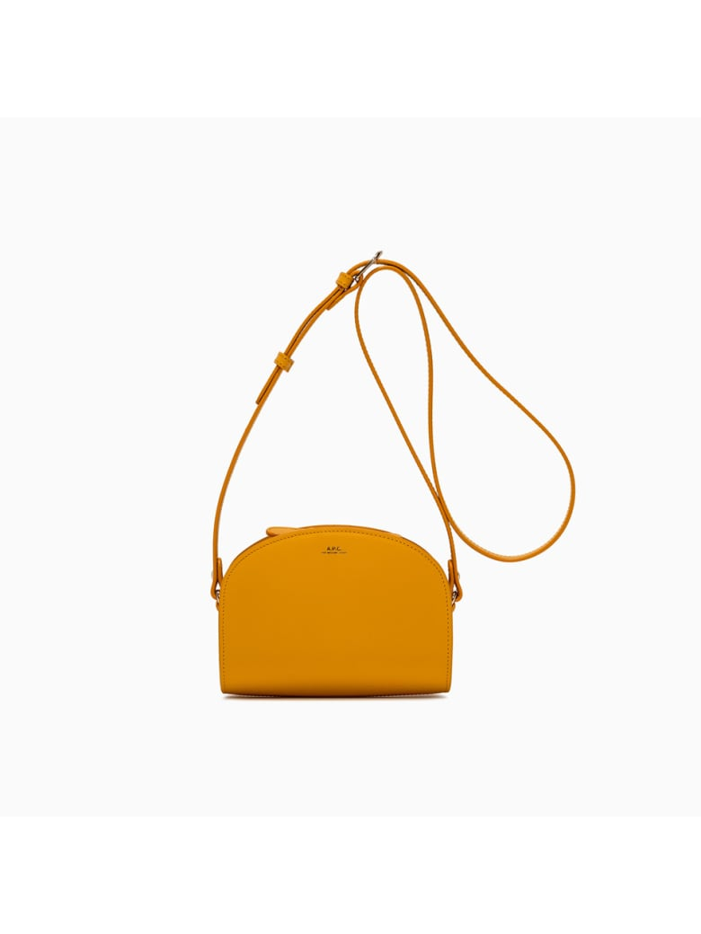 A.P.C. Demi Lune Mini Bag Pxawv-f61392 - JAUNE