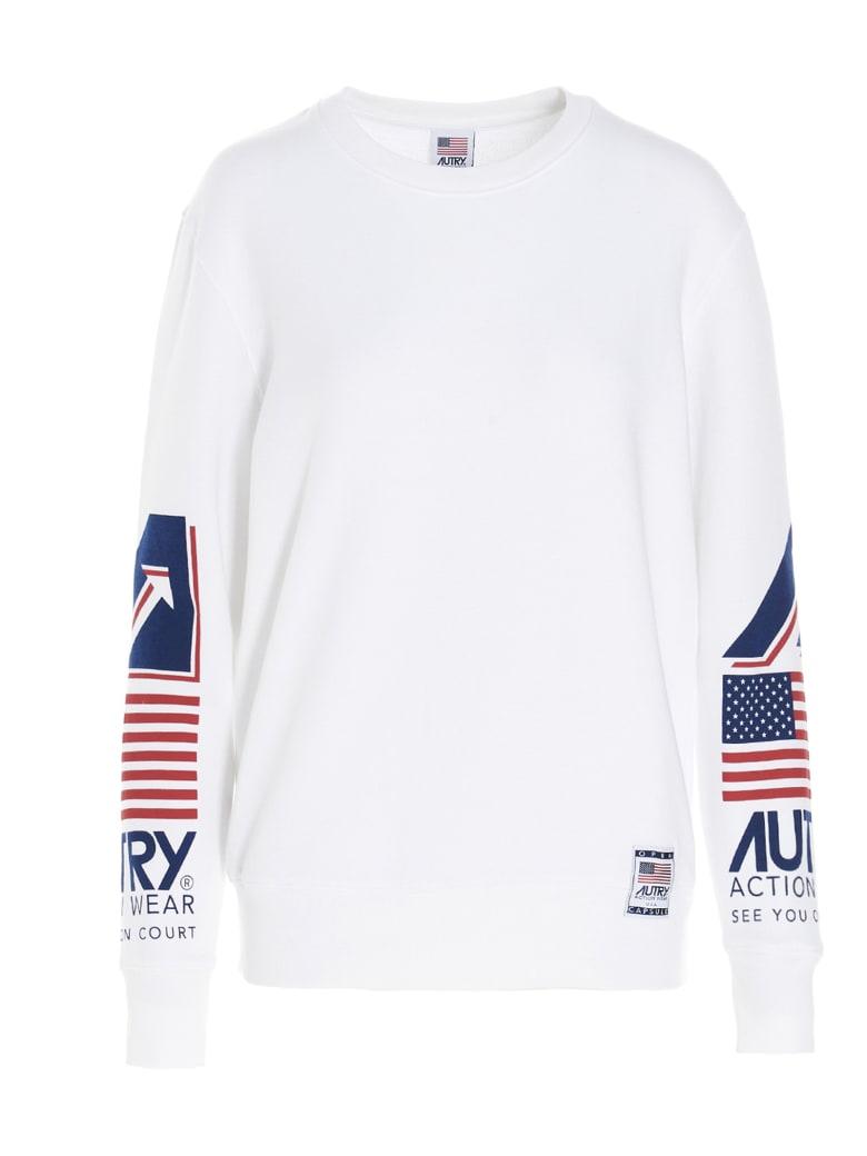 Autry Sweatshirt - WHITE