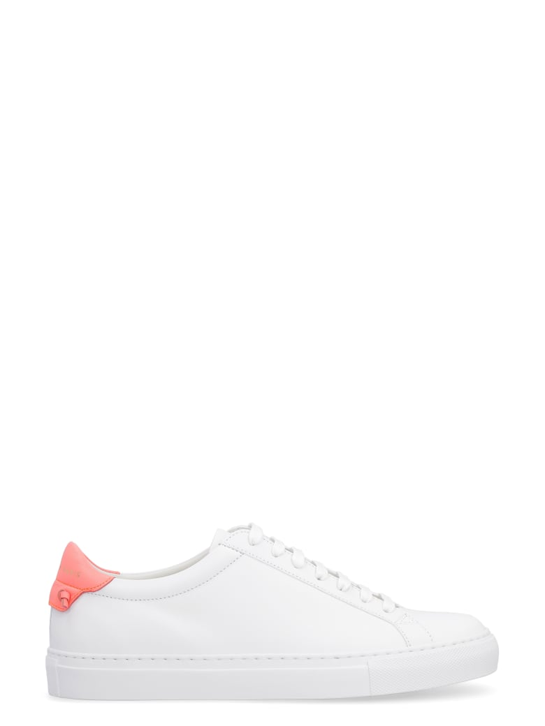 Givenchy Urban Street Leather Low-top Sneakers - White