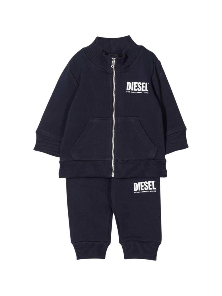 Diesel Black Jumpsuit Baby