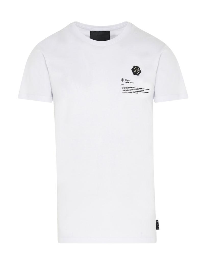 Philipp Plein 'gothic' T-shirt - White