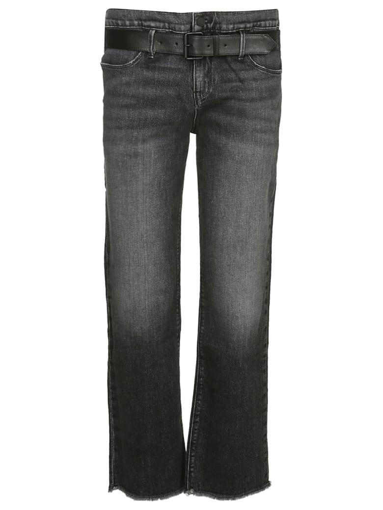 RTA Dexter Belted Baggy Pants - Black