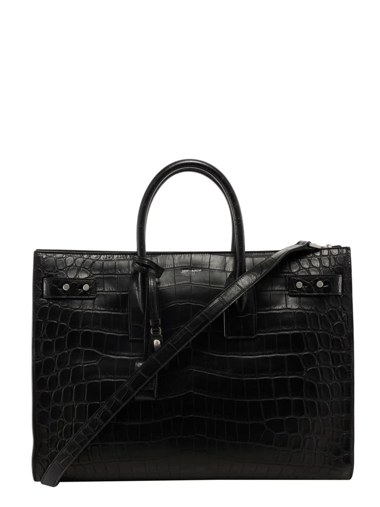 Saint Laurent Sac De Jour Handbag - Black