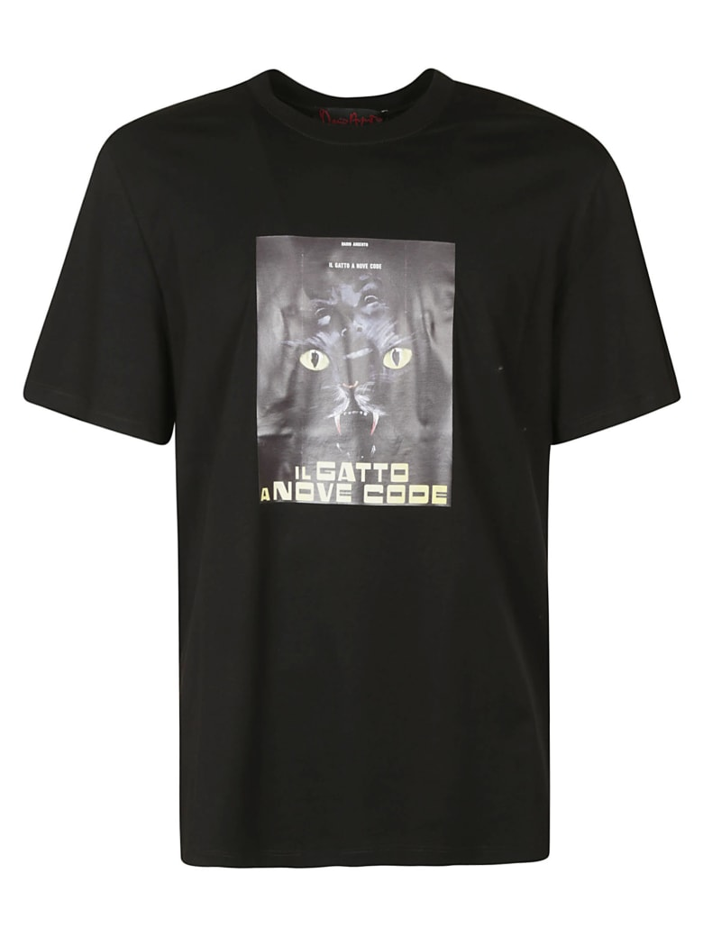 MSGM Photo Print T-shirt - Black