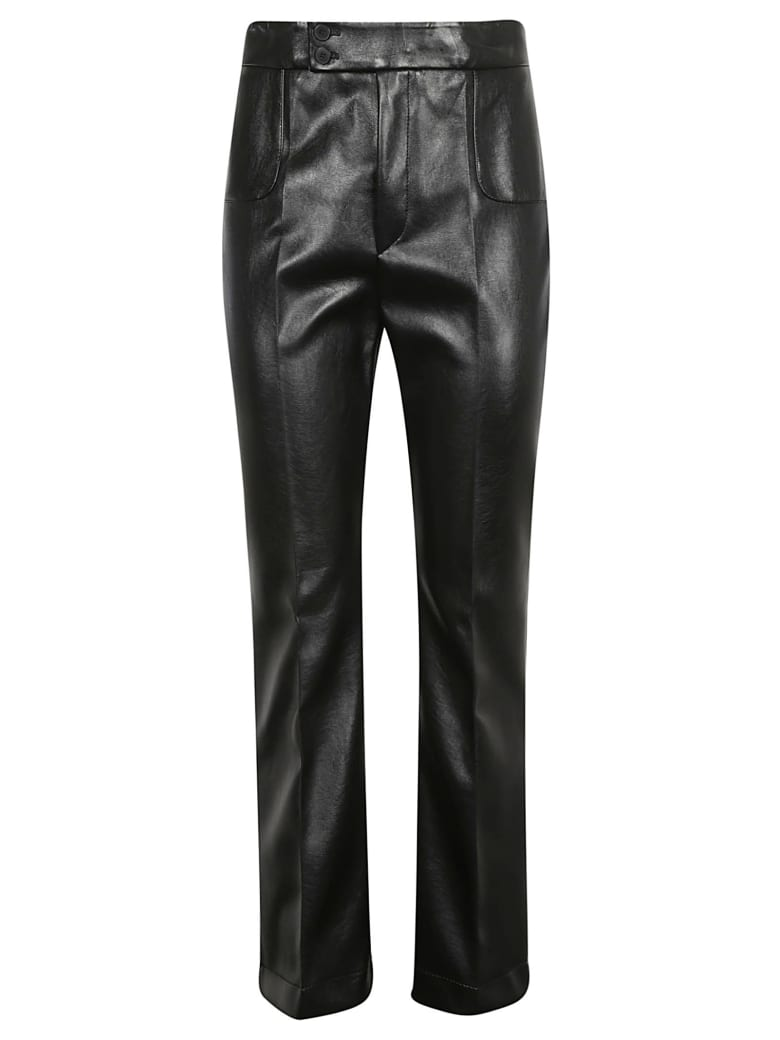 Philosophy di Lorenzo Serafini Double-buttoned Lock Trousers - Black