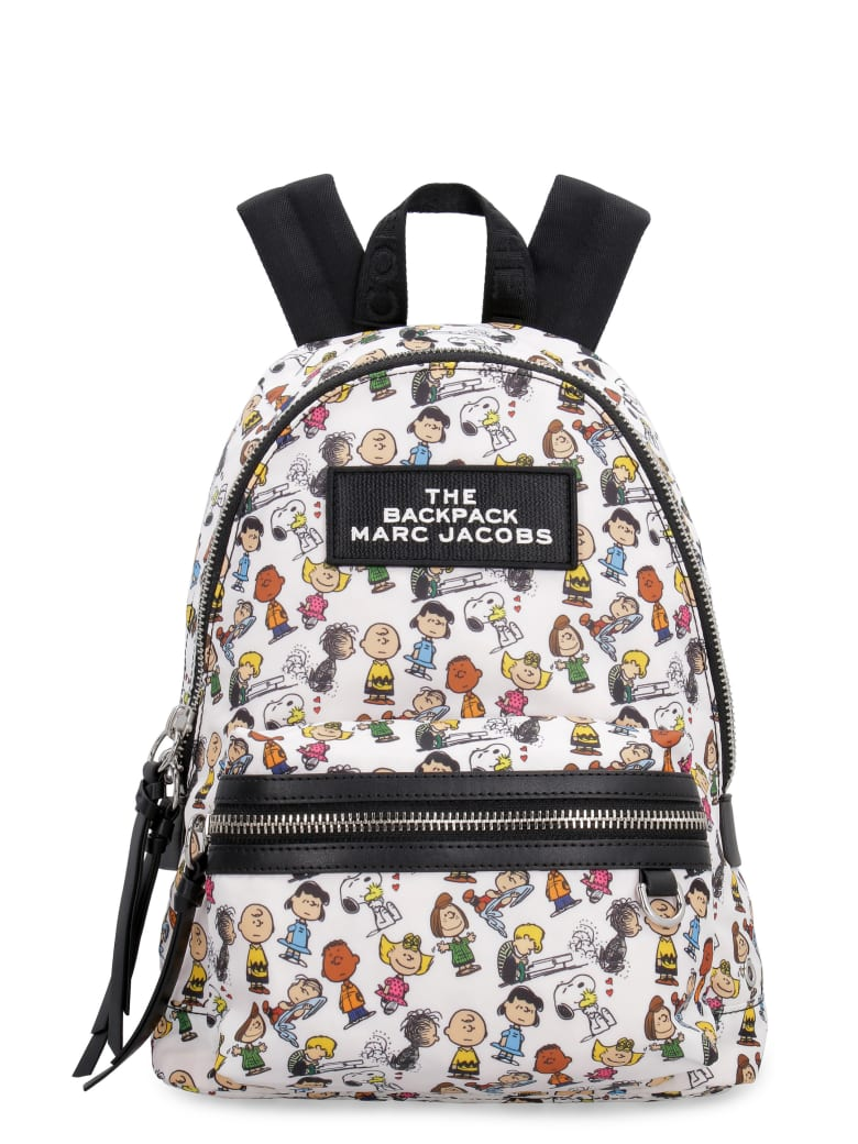 Marc Jacobs Nylon Backpack With Patch - Peanuts X Marc Jacobs - Multicolor