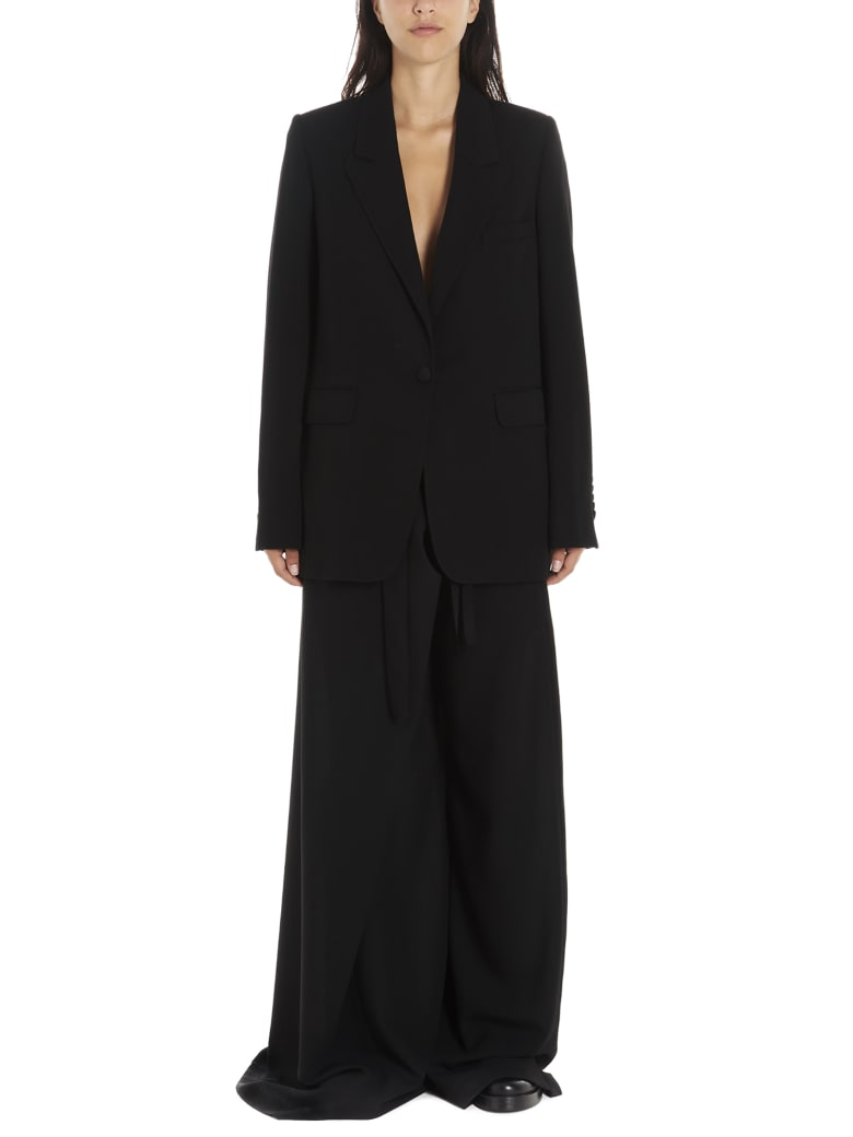 Ann Demeulemeester Jacket - Black