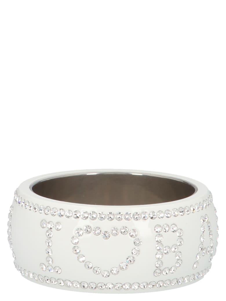 Balenciaga 'crush' Bracelet - White