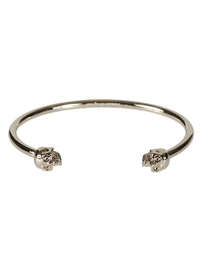 Alexander McQueen Thin Skull Bracelet - New oro