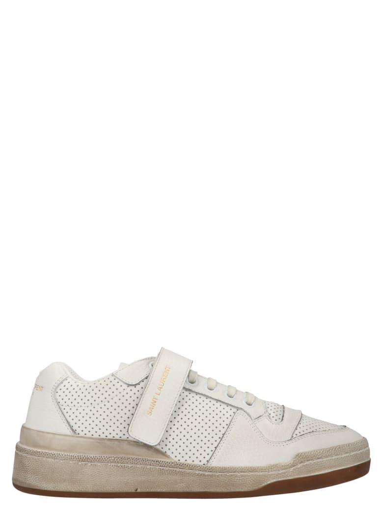 Saint Laurent 'sl24' Shoes - White