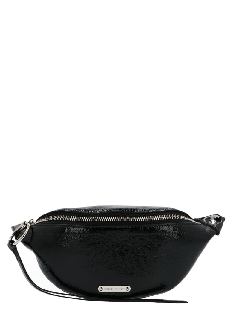 Rebecca Minkoff 'mini Sling Naplack' Bag - Black