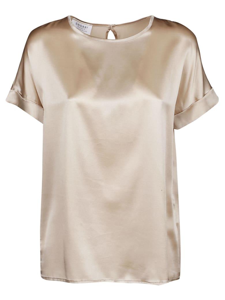 Snobby Sheep Turn Up Cuffs T-shirt - Oro