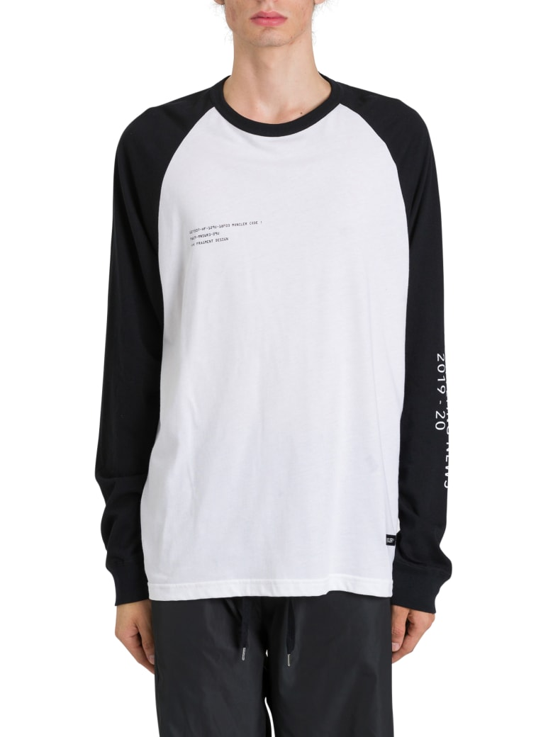 Moncler Genius Long Sleeve Tee By Fragment - Bianco