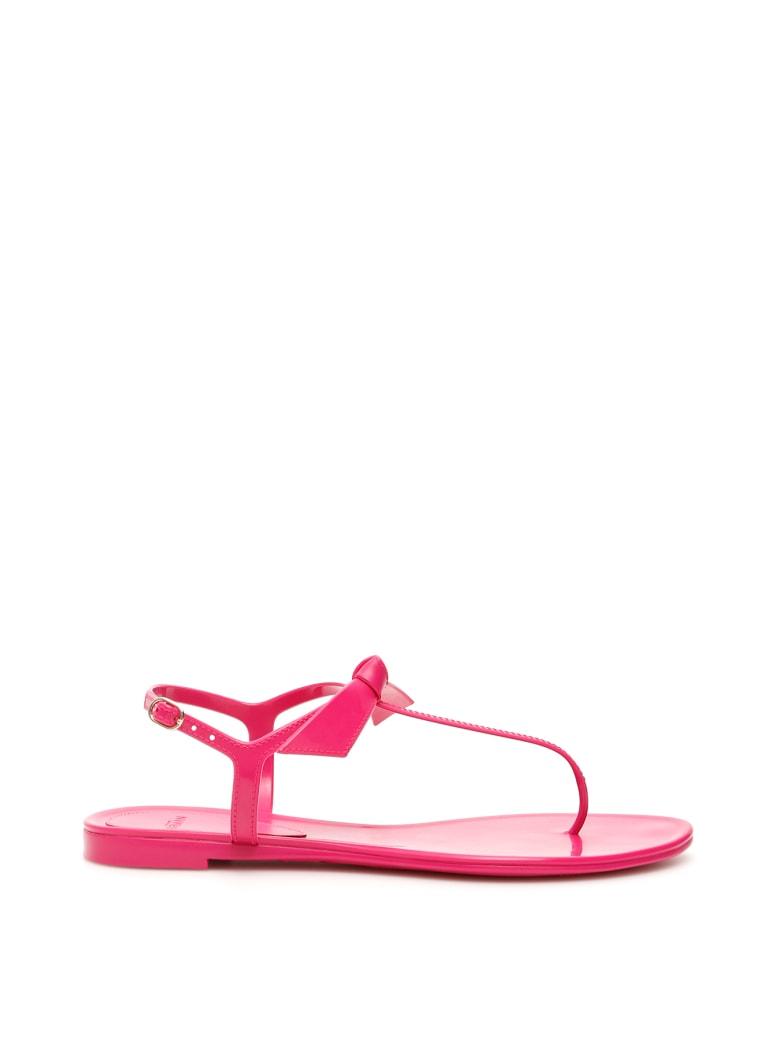 Alexandre Birman Clarita Jelly Tpu Sandals - AURORA (Fuchsia)