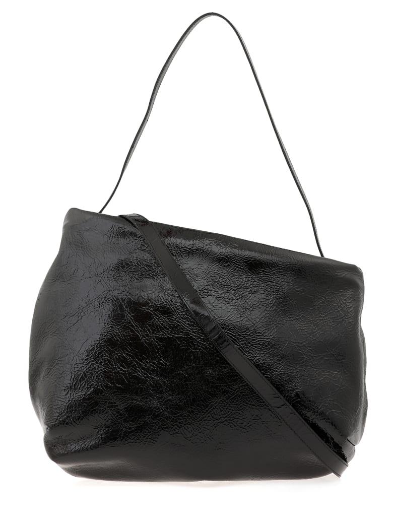 Marsell Leather Bag - BLACK
