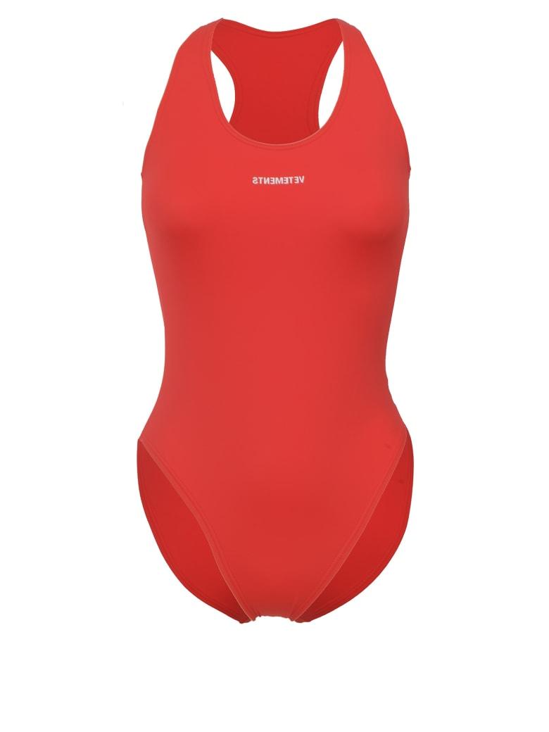 VETEMENTS Swimsuit - Red