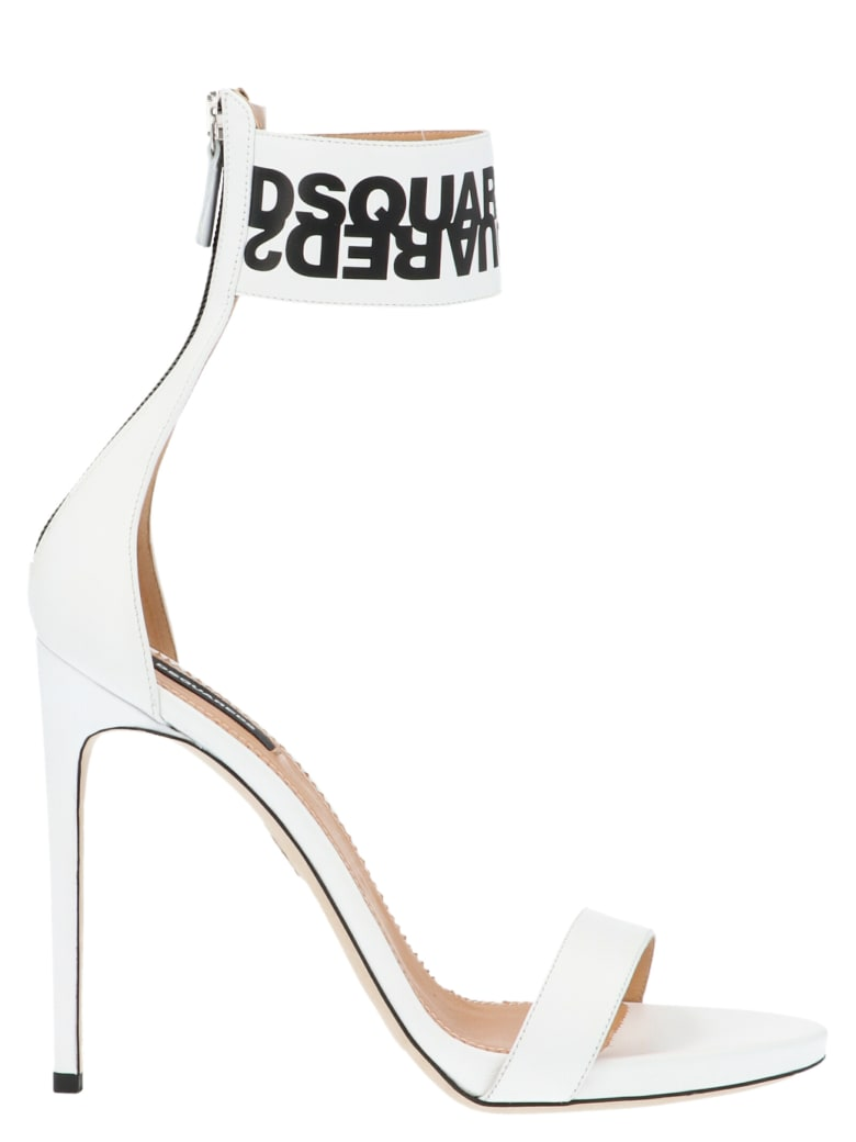Dsquared2 'big Logo' Shoes - White