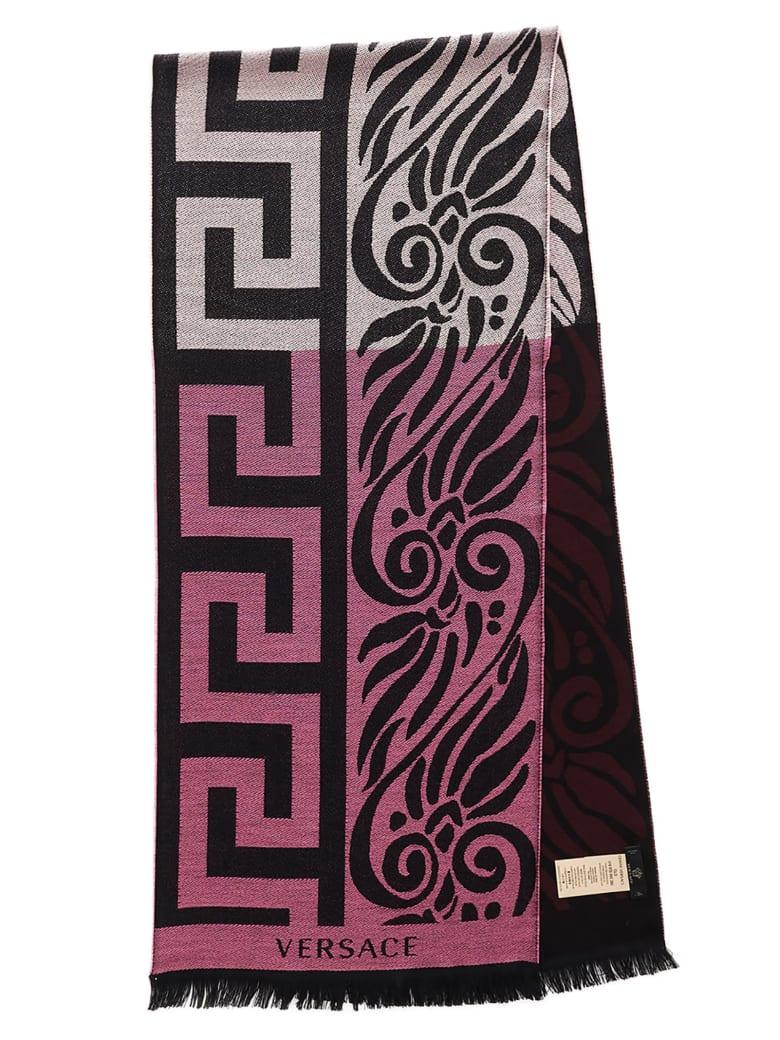 Versace 'greca Bicolor' Scarf - Multicolor