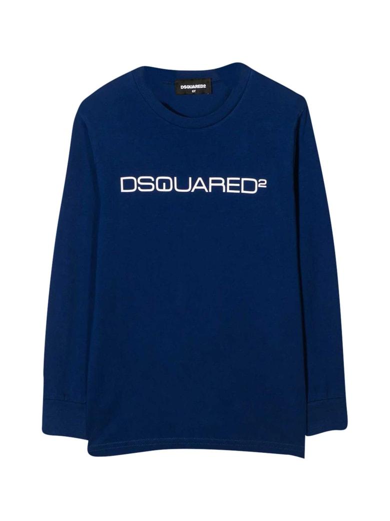 Dsquared2 Blue T-shirt - Blu