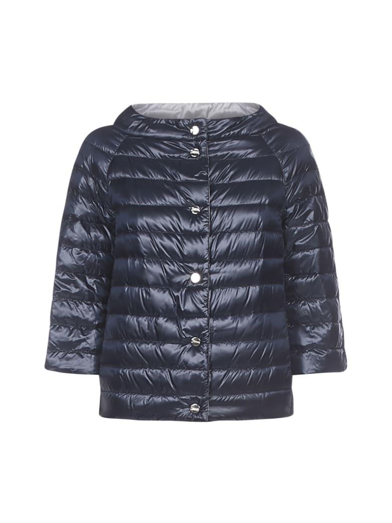 Herno Down Jacket - Blu acciaio