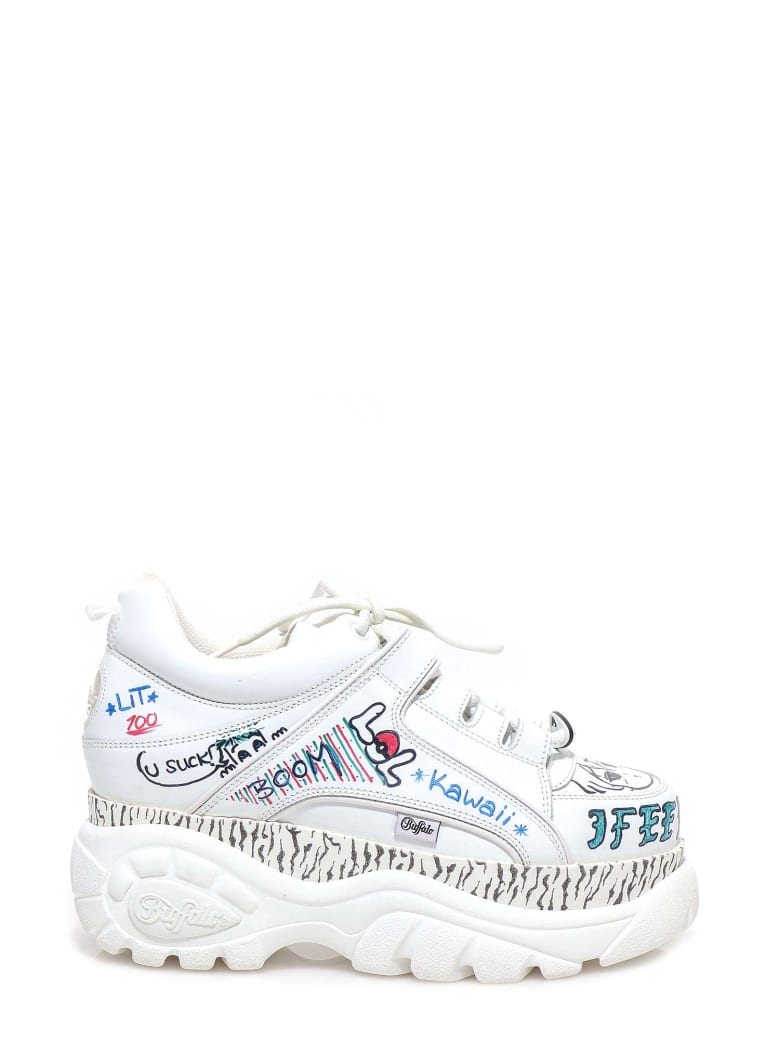 Buffalo Sneakers - White