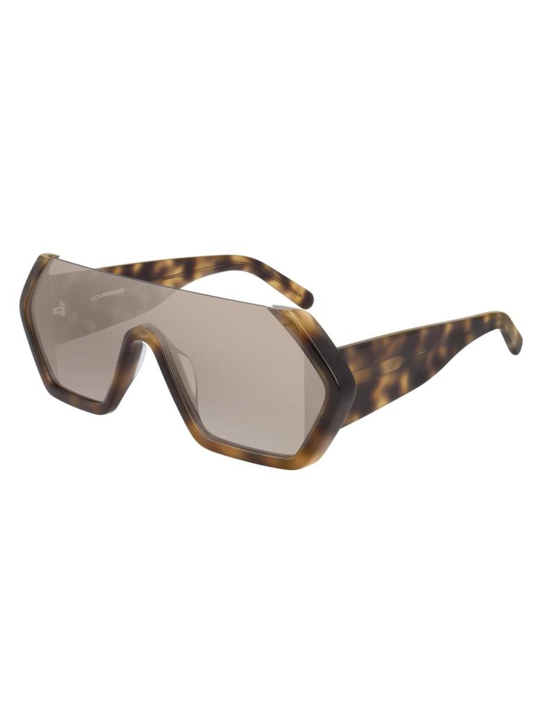 Courrèges CL1909 Sunglasses - Havana Havana Brown