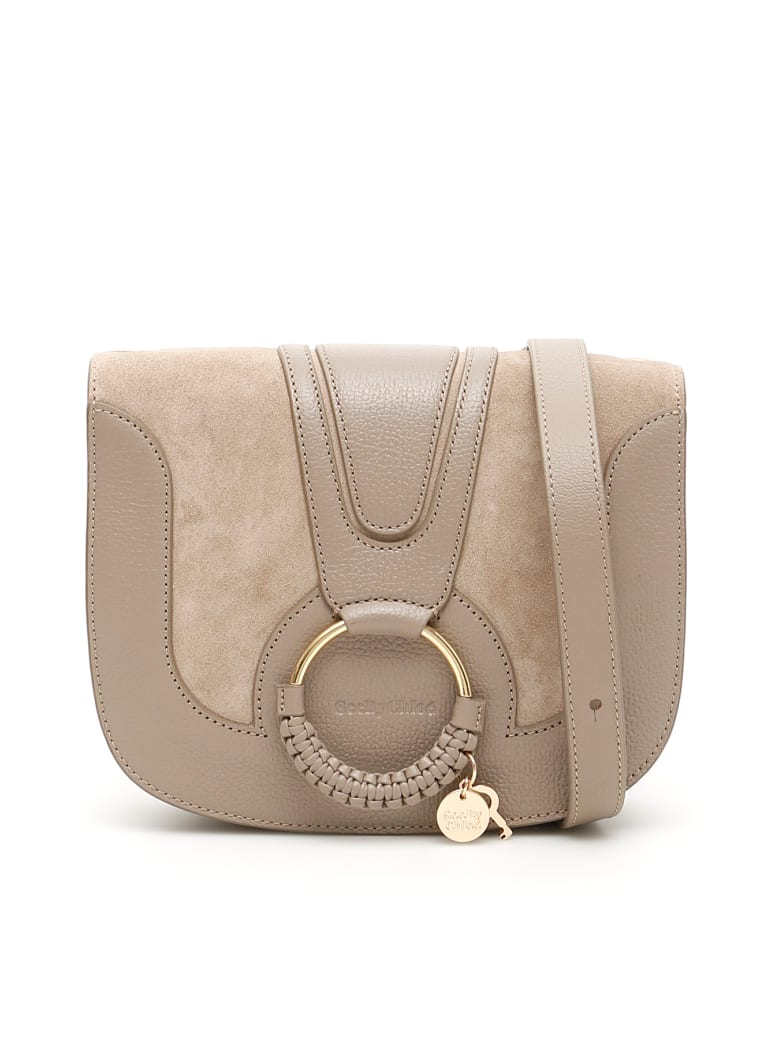 See by Chloé Hana Shoulder Bag - MOTTY GREY (Grey)
