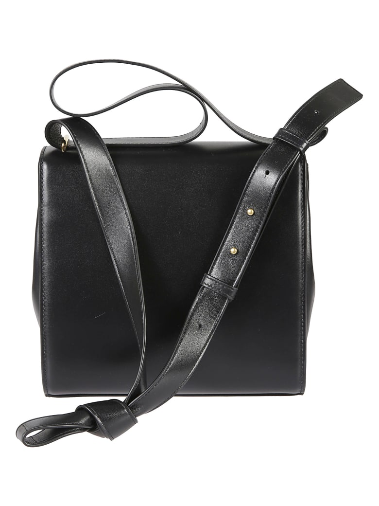 Bottega Veneta Flap Shoulder Bag - Black