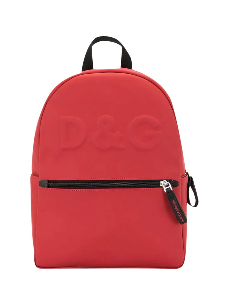 Dolce & Gabbana Red Backpack - Rosso