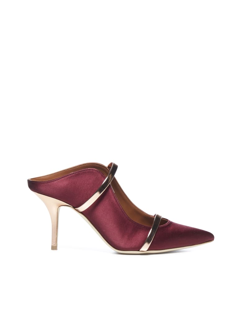 Malone Souliers  - Wine rose gold