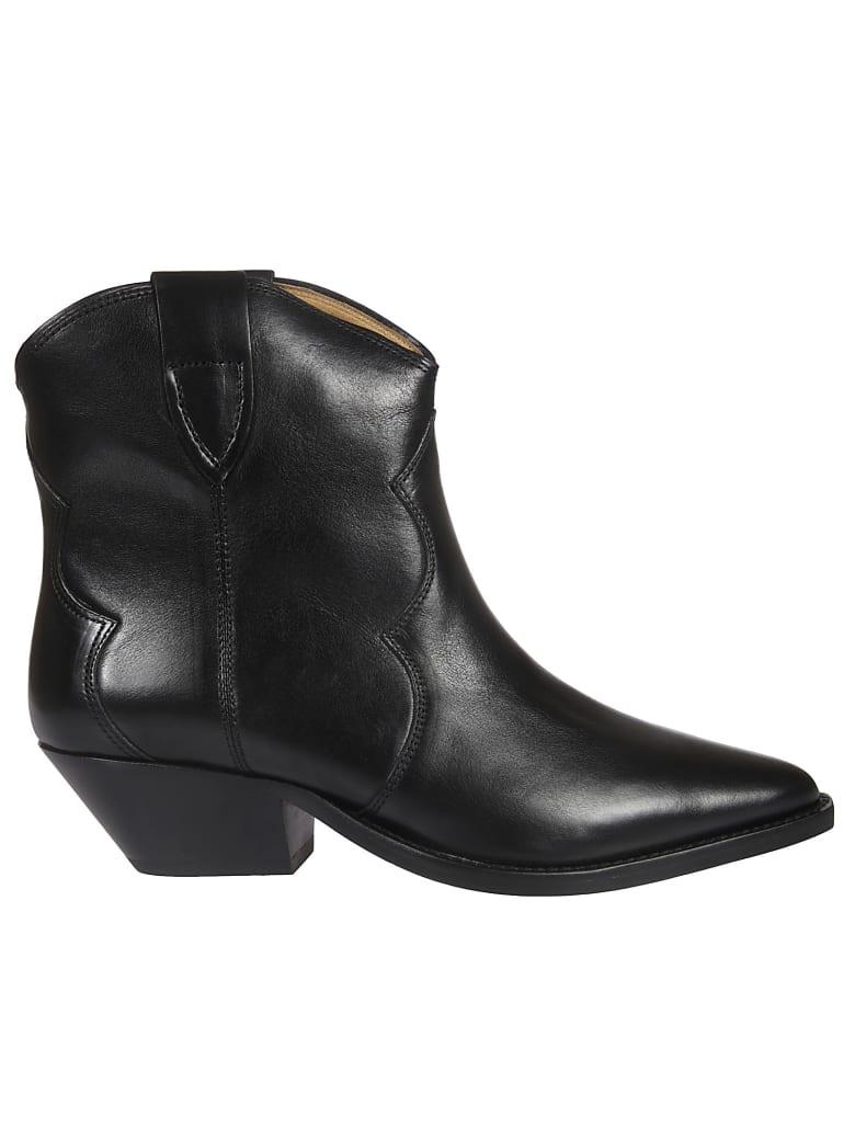 Isabel Marant Santiago Ankle Boots - Black
