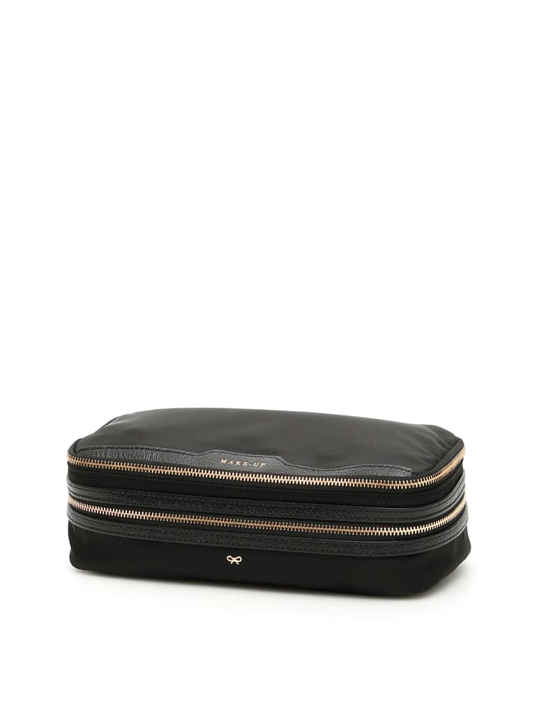 Anya Hindmarch Make-up Case - BLACK (Black)