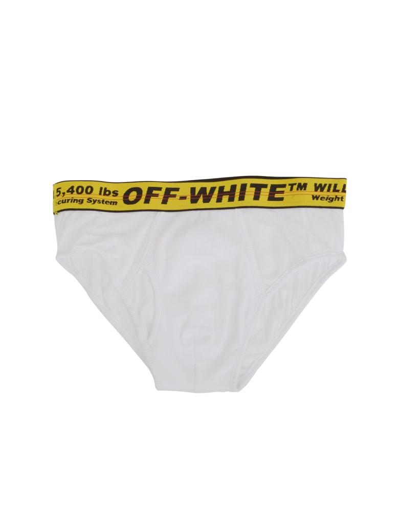 Off-White Slips - White