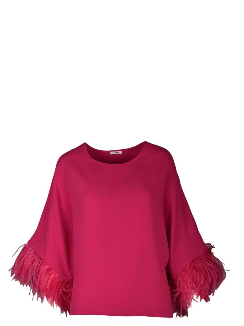 Parosh Shirt - Pink & Purple