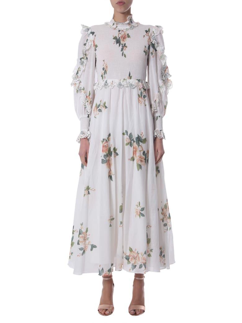 Zimmermann Long Dress - BIANCO
