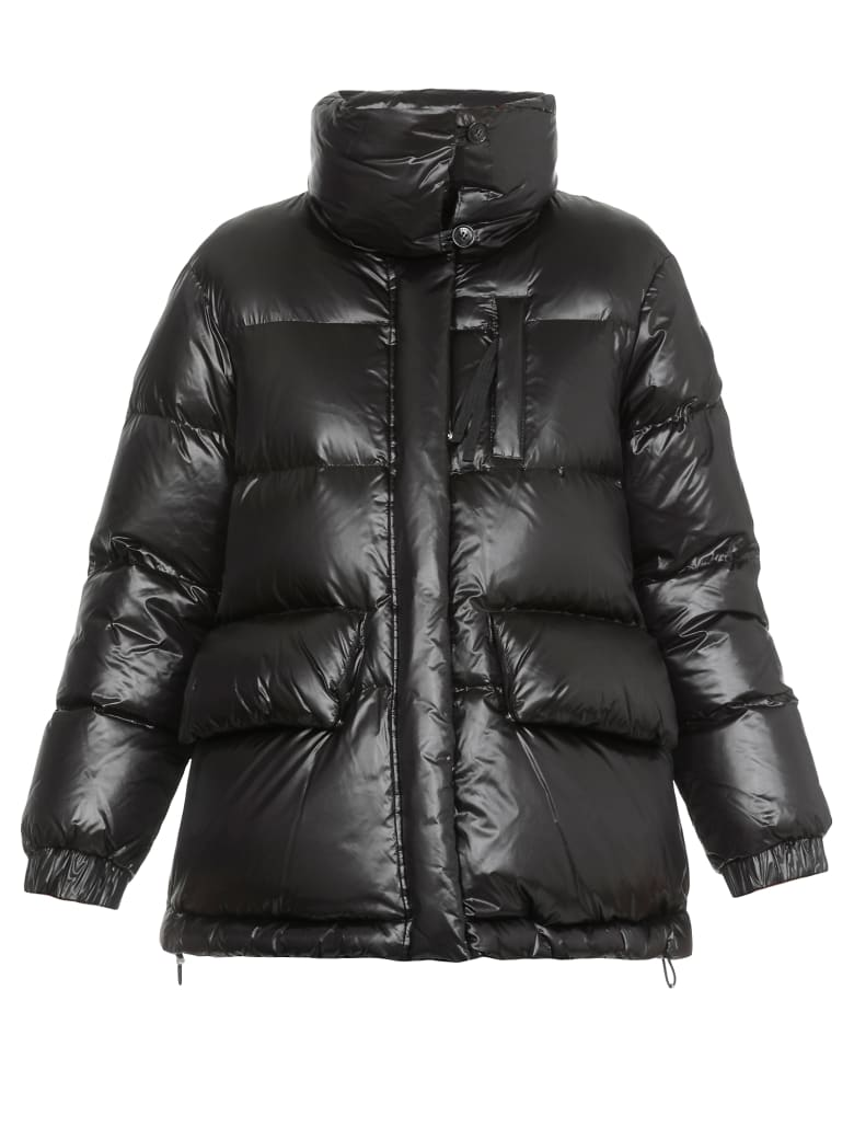 Woolrich Quilted Down Jacket - BLACK