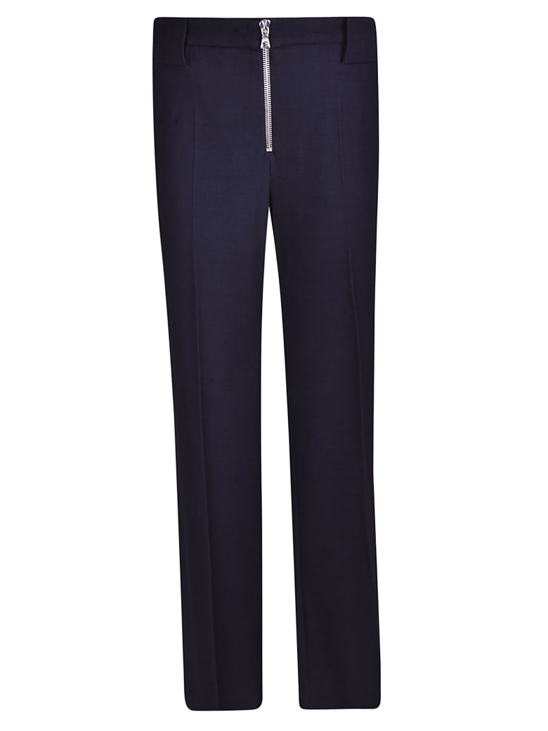 Victoria Beckham Front Zip Trousers - MIDNIGHT