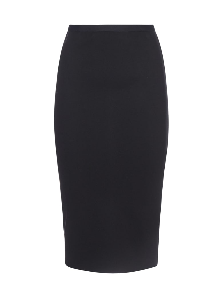 Blanca Vita Giovanna Jersey Pencil Skirt - Onice
