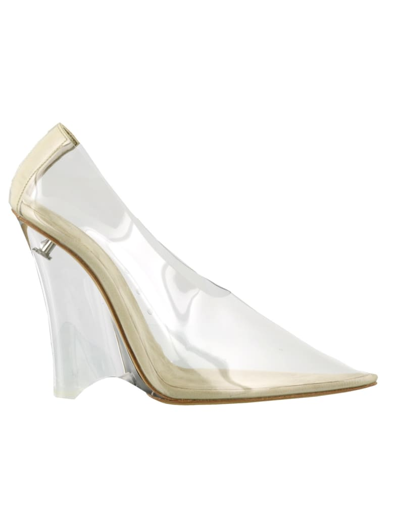 Yeezy Wedge Pump In Soft Pvc - Clear