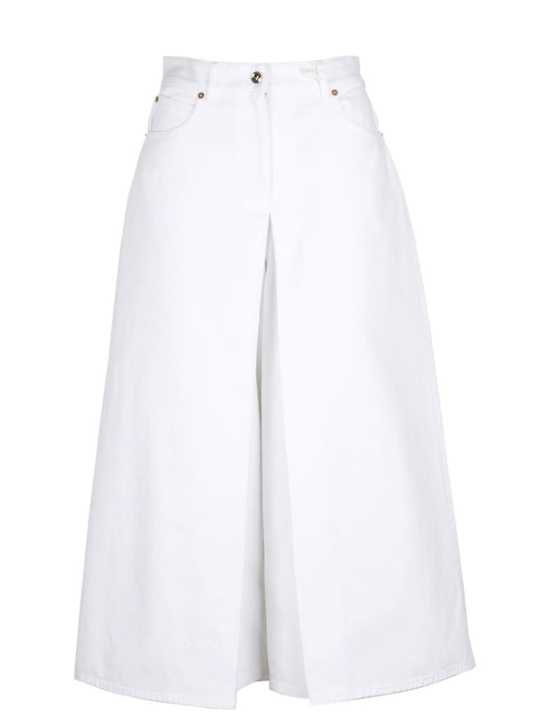Valentino V Golg Bull Jeans - White
