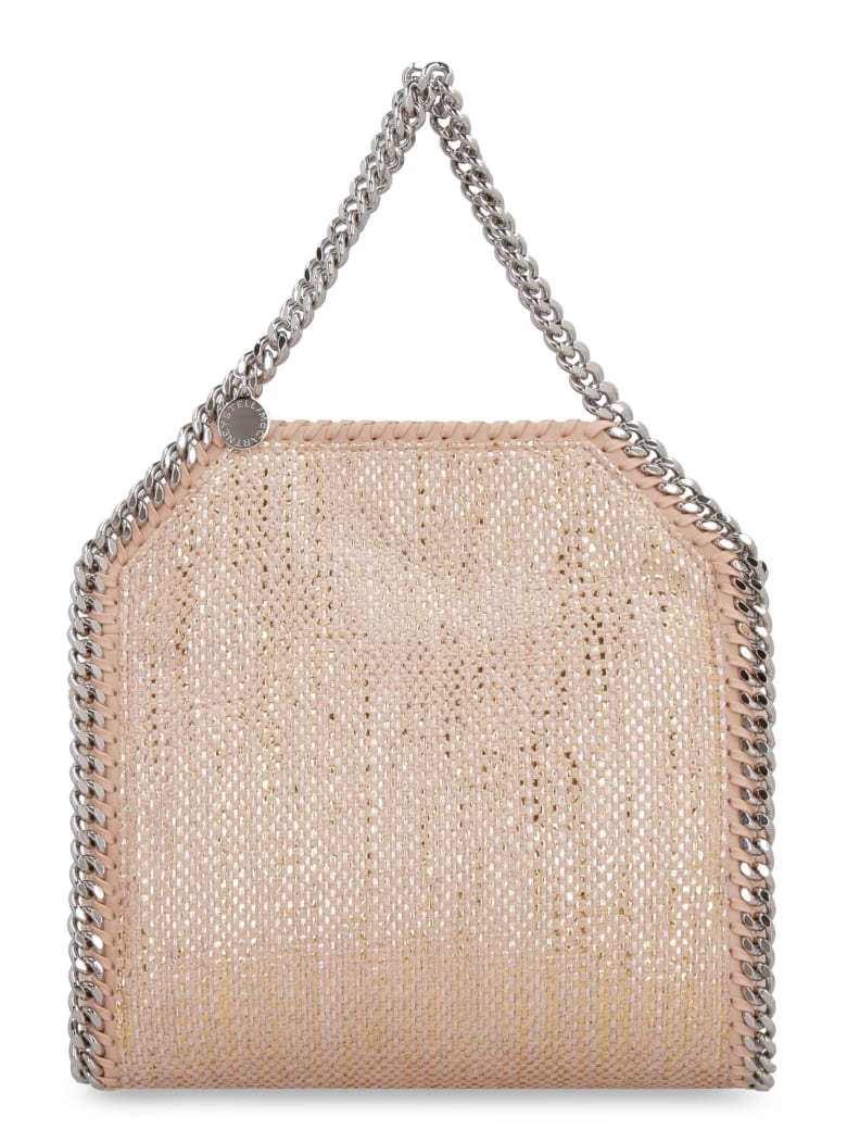 Stella McCartney Woven Chenille Tote Bag - Pink