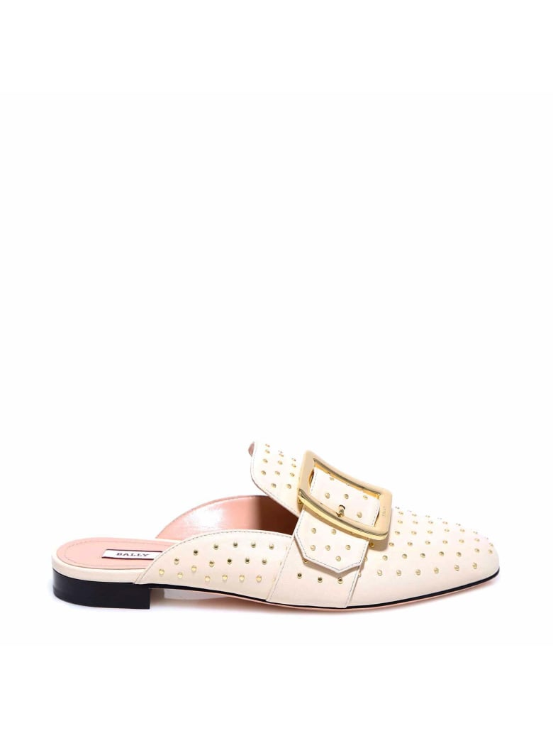 Bally Janesse Slippers - White