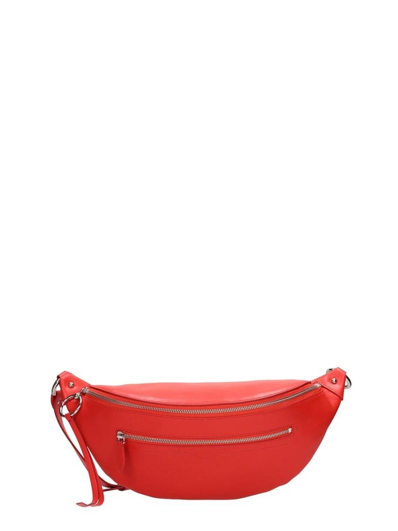 Rebecca Minkoff Red Leather New Big Sling Beltbag - red
