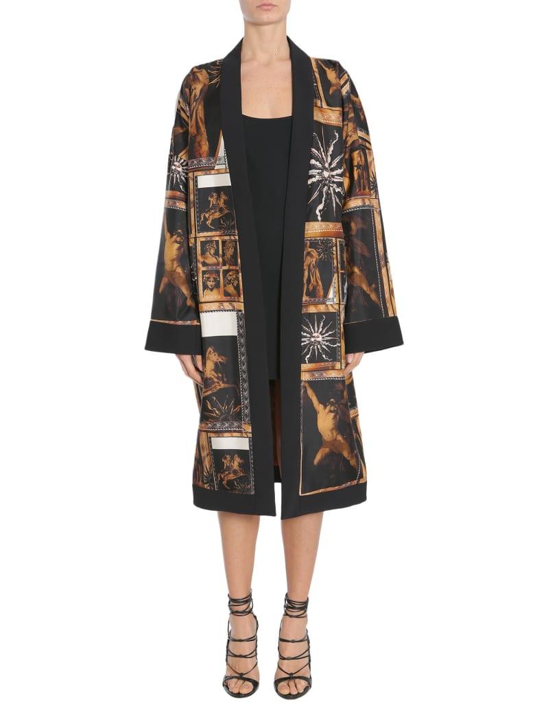 Fausto Puglisi Silk Kimono - MULTICOLOR