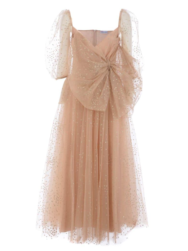 RED Valentino Dress - Cipria/oro