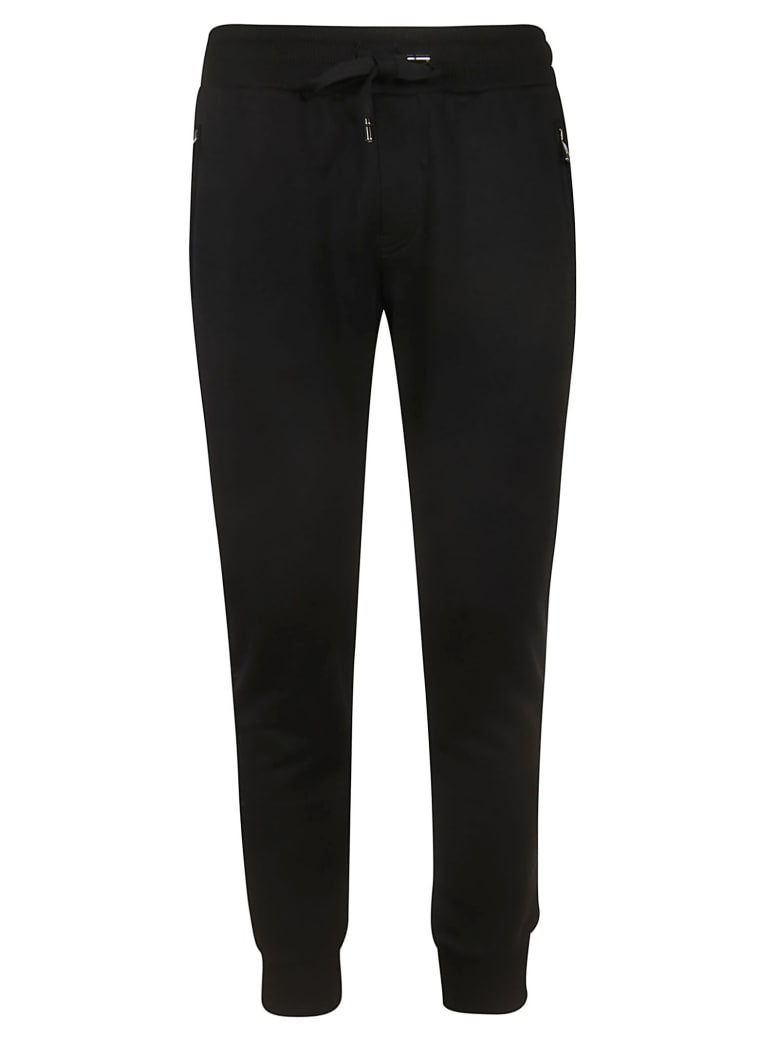 Dolce & Gabbana Rear Logo Track Pants - black