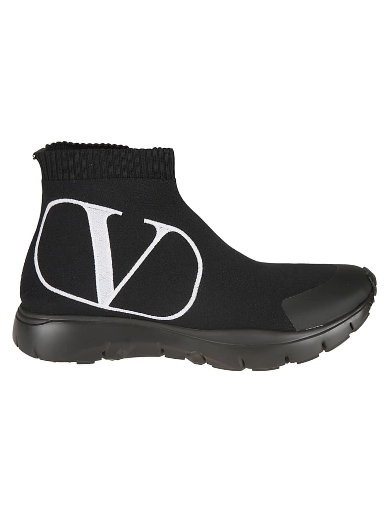 Valentino Boots - NERO/BIANCO