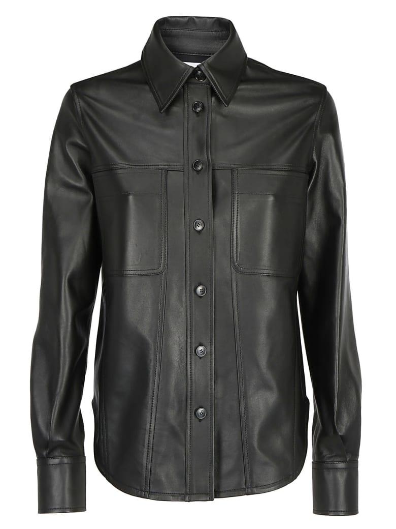 Calvin Klein Leather Shirt - Calvin black